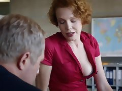 Hot redhead in Austrian 'Tatort' episode
