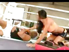 Audrey Bitoni in the Boxing Ring