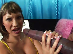 Ava Devine and extremely giant dick