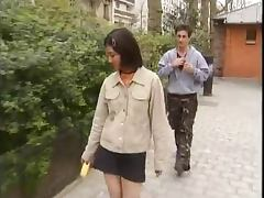 Korean student fucks western dicks 1