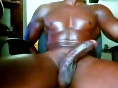 Beautiful Muscle Black Cock