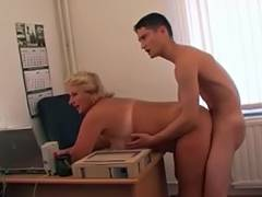 RUSSIAN MAMA 12 aged with a juvenile boy friend