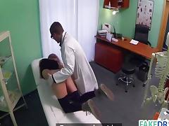 Sex in a fake hospital
