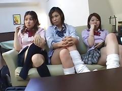 Cosplay Porn: 3 School Girls part 2