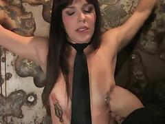 Bobbi Starr likes having current toys nearly her aggravation with the addition of vag nearly BDSM scene