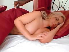 Two hot blondes are used by one BBC