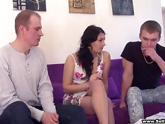 Splendid Martina, Lukas And Miroslav Have A Weird Thresome