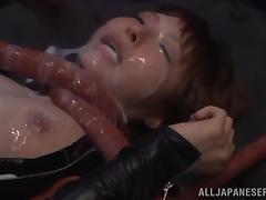 Crazy Japanese Fetish Video of a Girl Fucked by an Alien