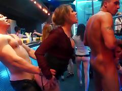 Naughty play during hot porn party